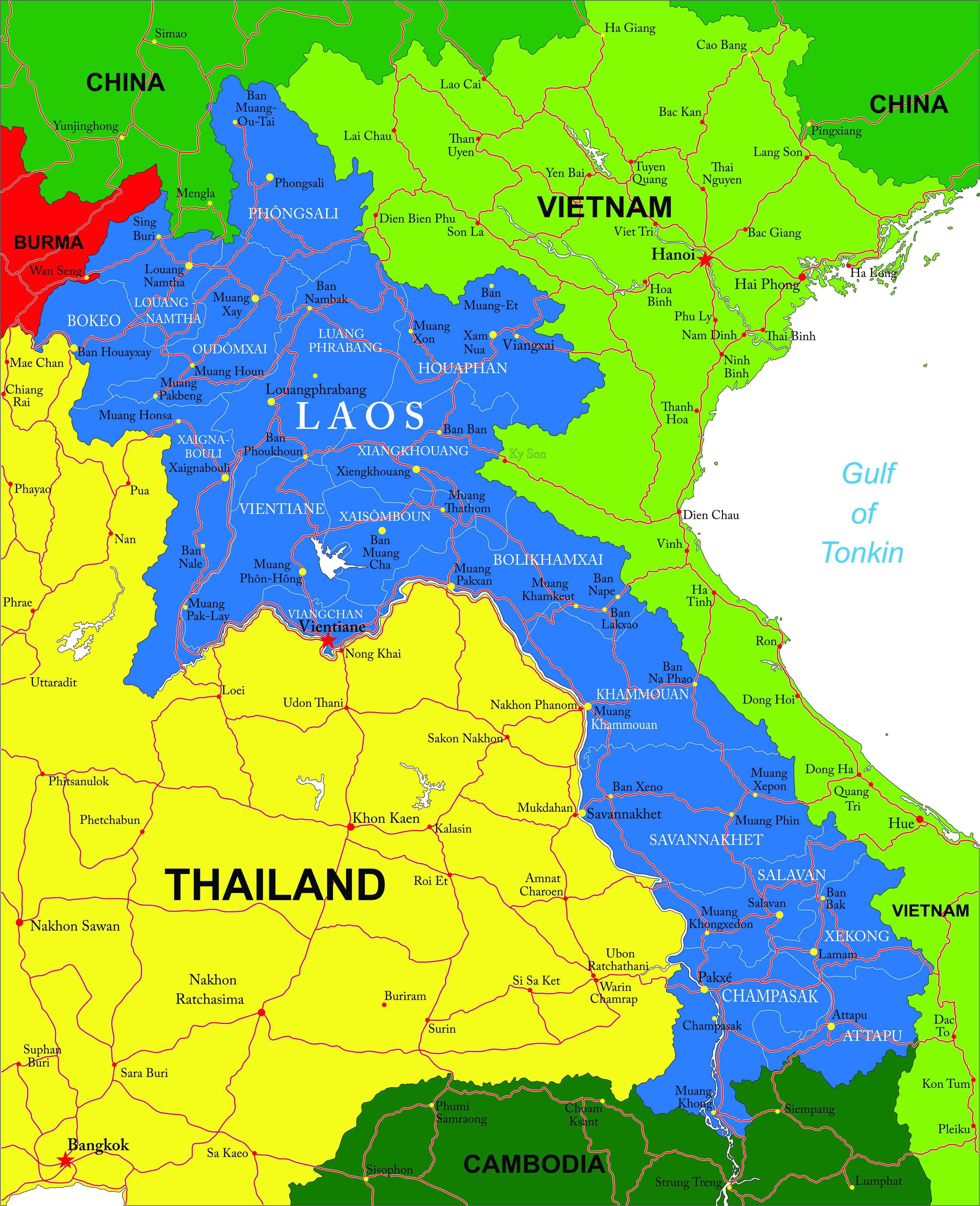 carte-detaillee-laos-5K