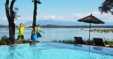 Famille Poveda – Voyage Sud Laos (8 jours)