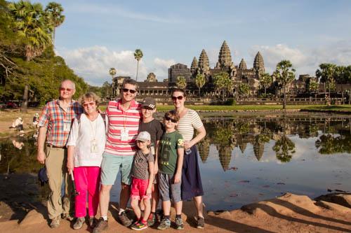 Famille MARANDON – Luang Prabang et Cambodge (14 jours)